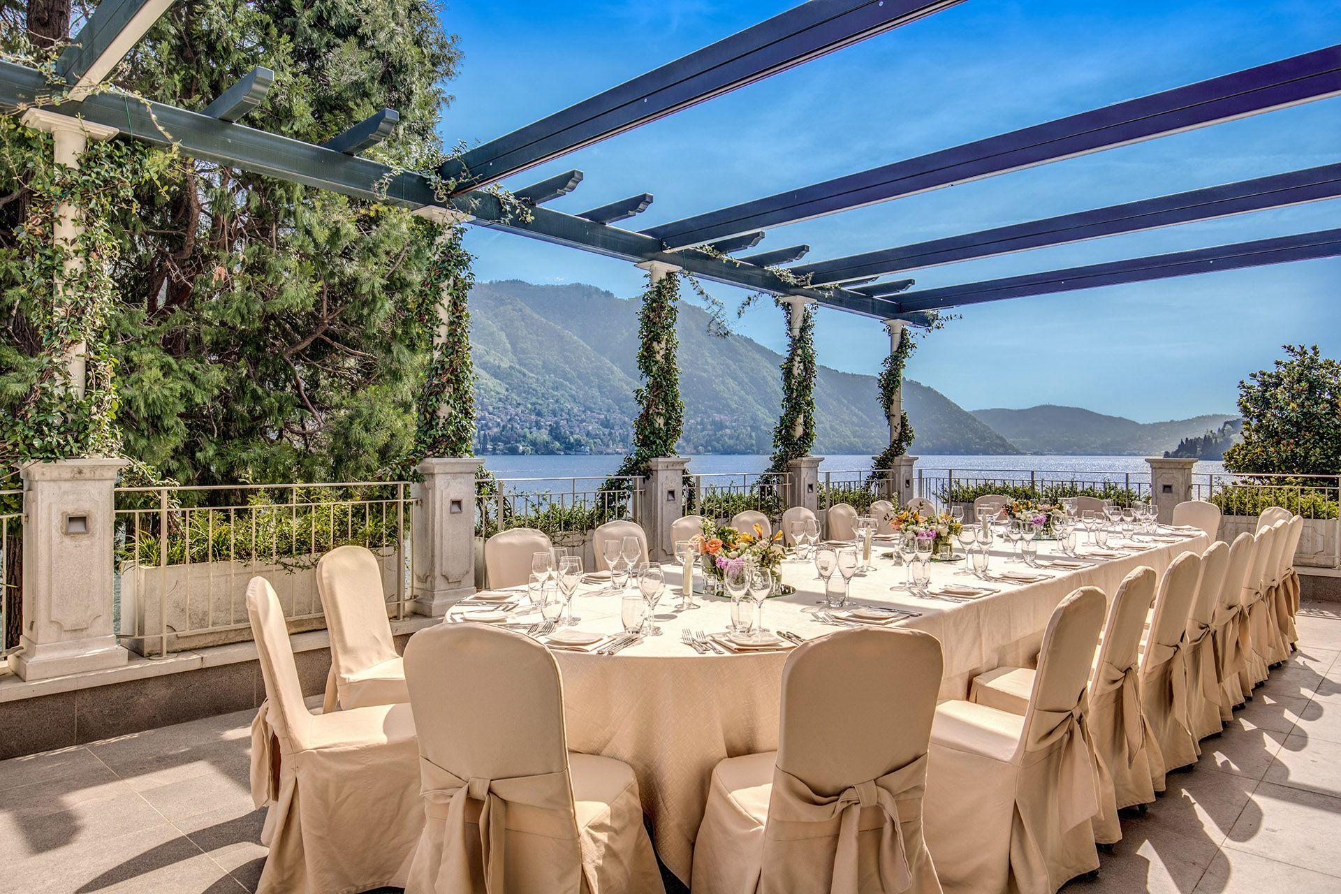 Ristorante Imperialino - Lago di Como: Terrazza panoramica ...