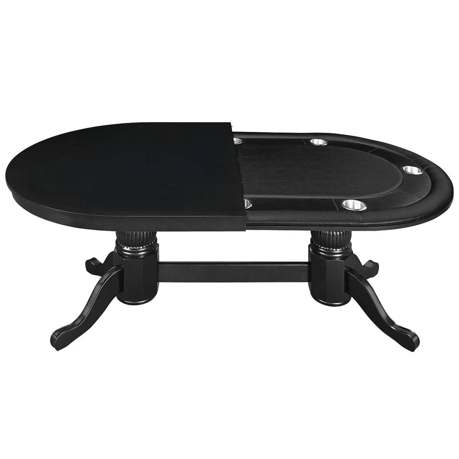 Convertible Poker Dining Table By Ram Game Room Poker Table
