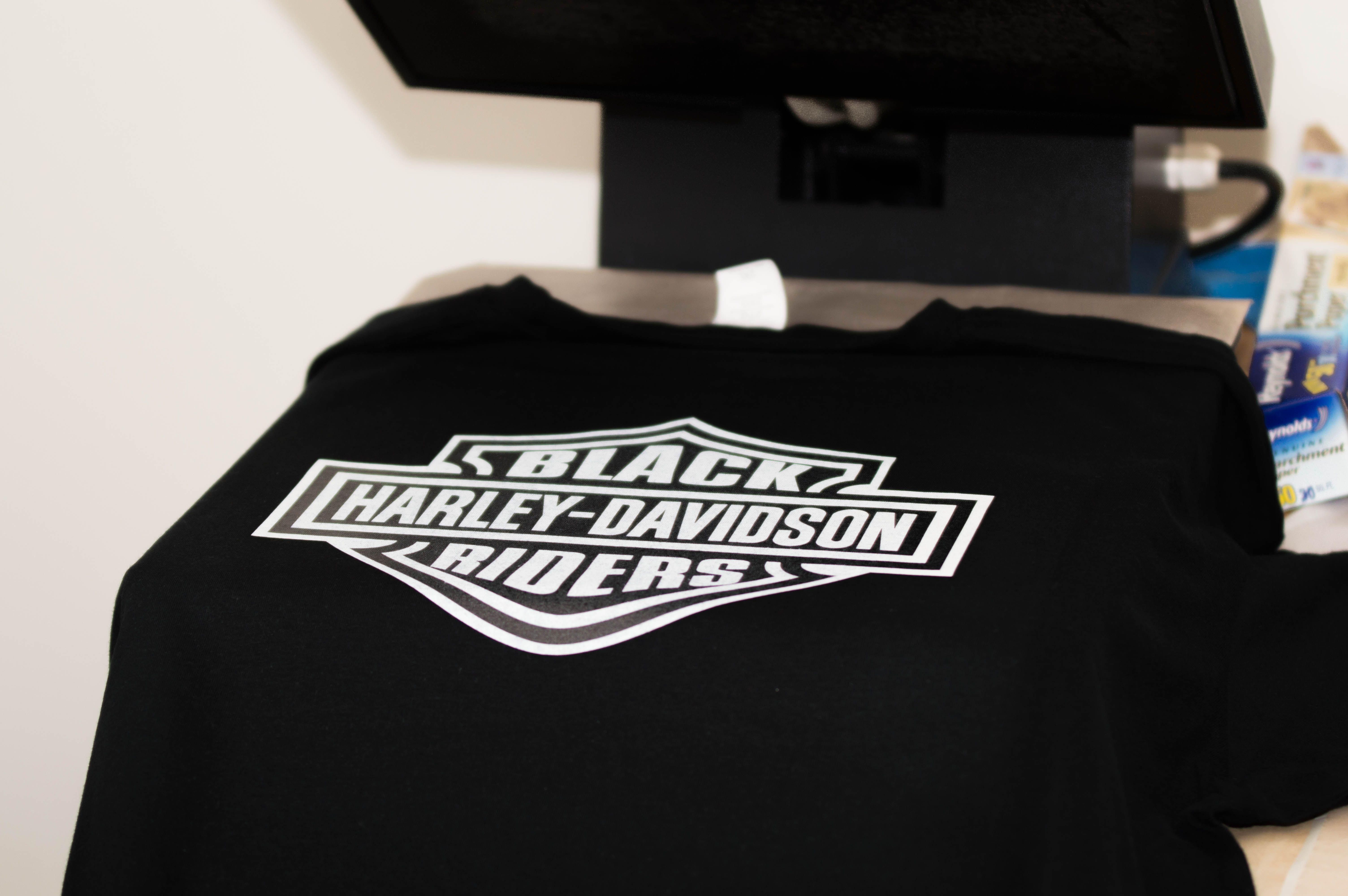 Black Harley Davidson Riders Shirts Custom T Shirt Printing Printed Shirts Black Harley Davidson