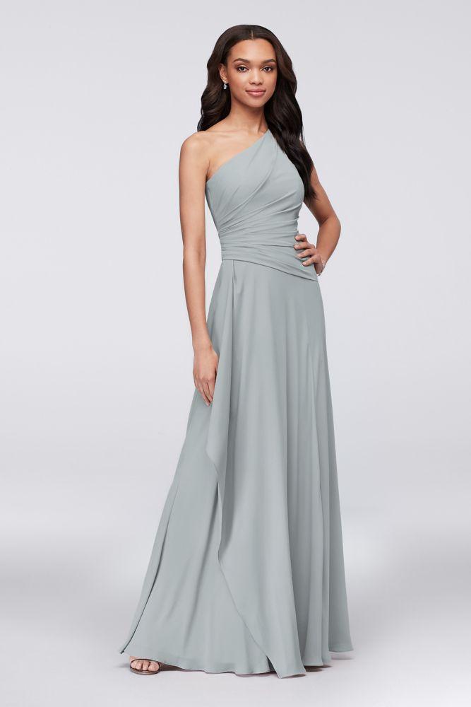 54cde3319735 Purple Open-Back Lace and Mesh Bridesmaid Dress | David's Bridal | Purple  Wedding in 2019 | Bridesmaid dresses, Davids bridal bridesmaid dresses,  Dresses