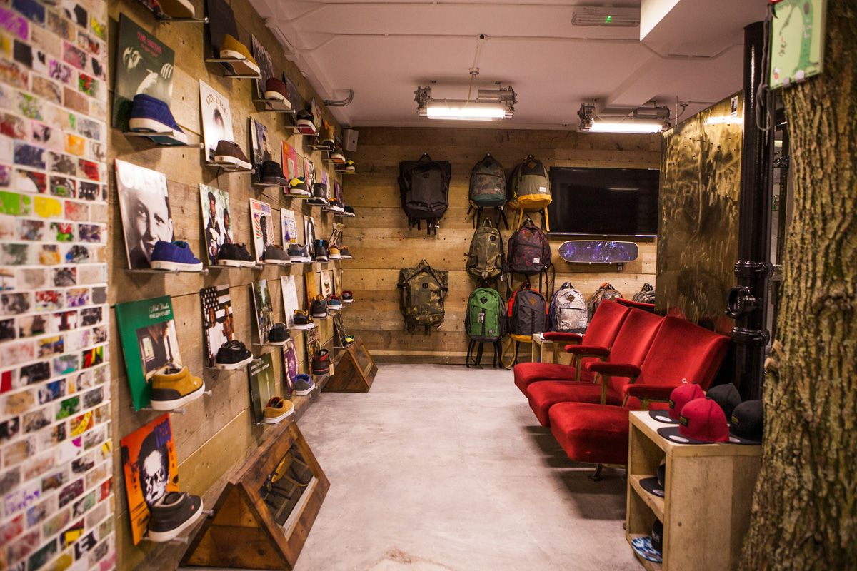 Art of Board Recycled Wood Skateboard Tile // Element Flagship Store ...