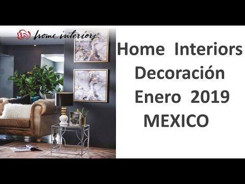 Catálogo Home Interiors Decoración Enero 2019 MEXICO