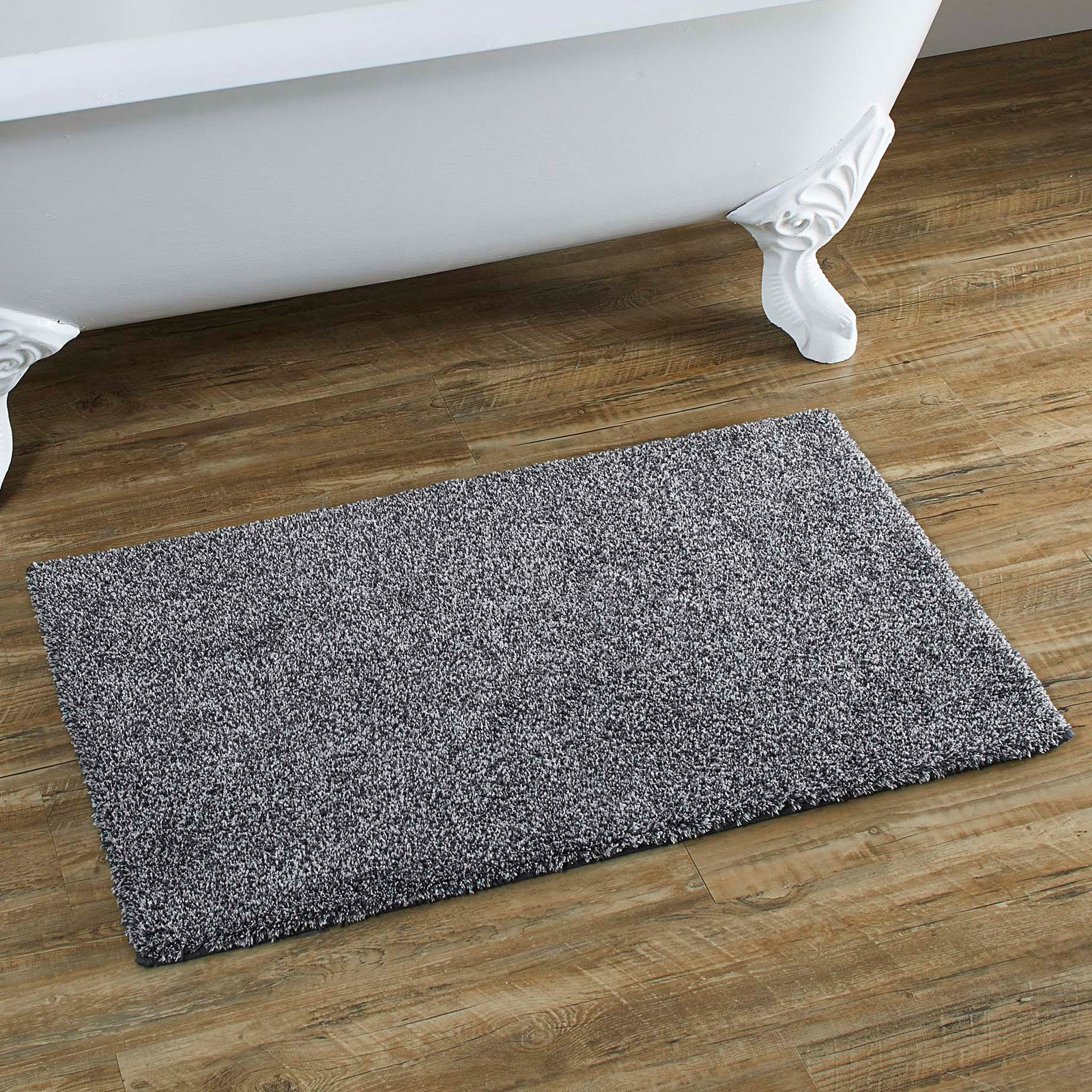 Better Homes Gardens Solid Bath Rug Grey Shadow Heather Better