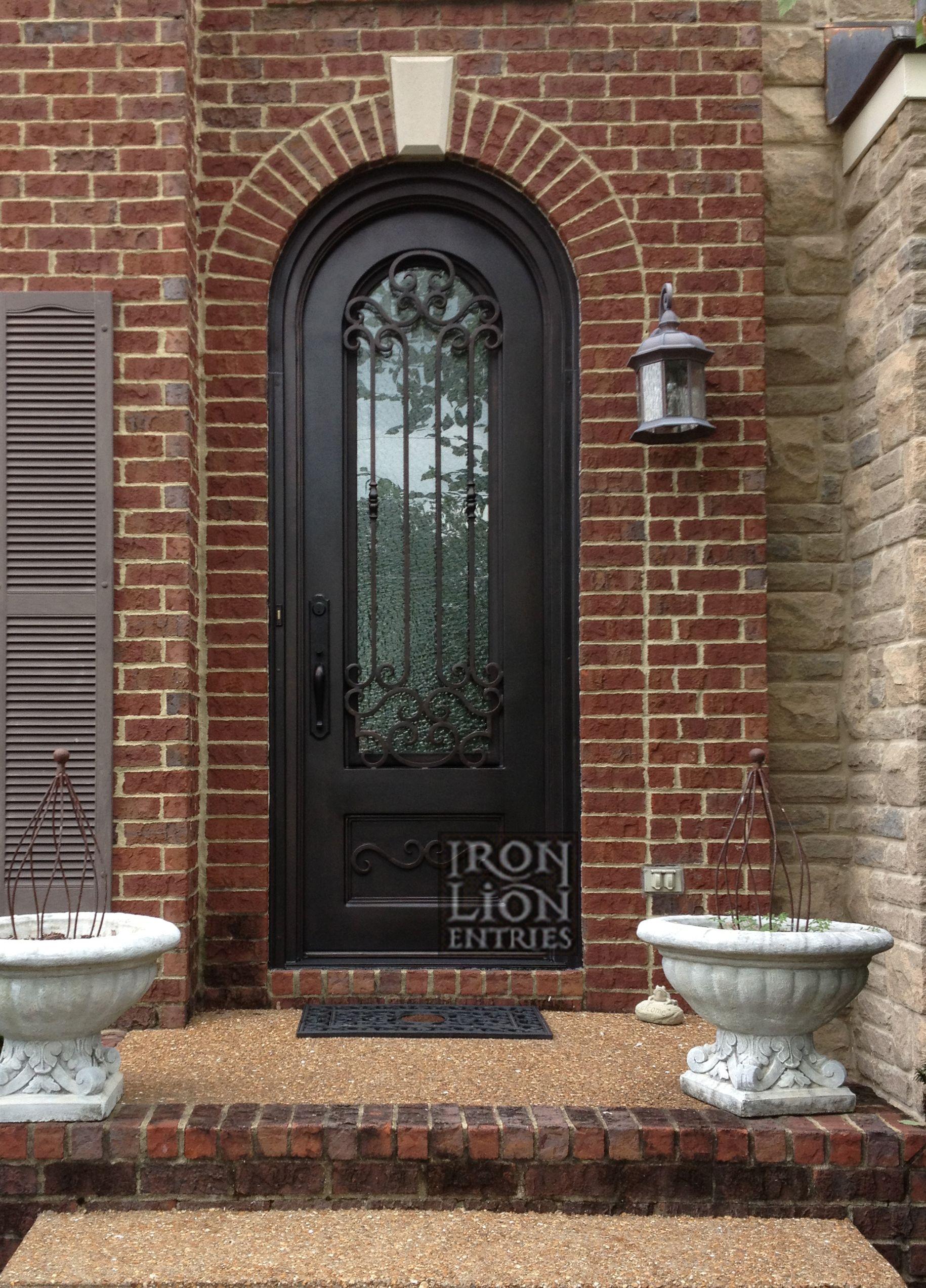 Custom Iron Door Front Entry Door Wrought Iron Door Iron Front