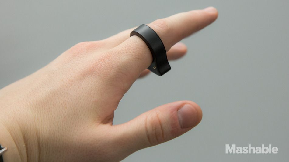 Nod Bluetooth Ring Controls All Your Smart Devices | Wrist