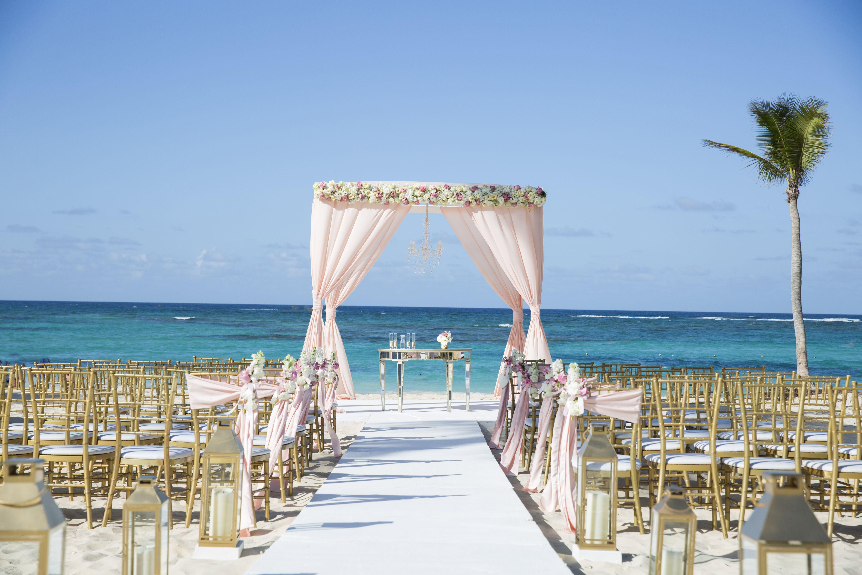 Beach Elegance Wedding In Kukua Punta Cana Dominican Republic Photo By Christina Barnum Photograp Punta Cana Wedding Beach Ceremony Beach Destination Wedding