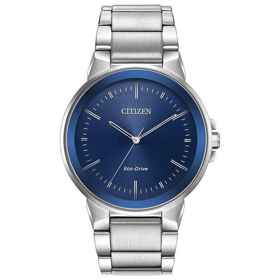 88bd49728a3 Men s Citizen Eco-Drive® Axiom Watch with Blue Dial (Model  Bj6510-51L)