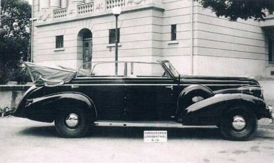1939 Buick Roadmaster 4 Door Cabriolet Built For General Henri