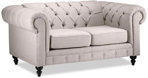 Salle De Sejour Leon S Chesterfield Furniture Furniture Teal Sofa