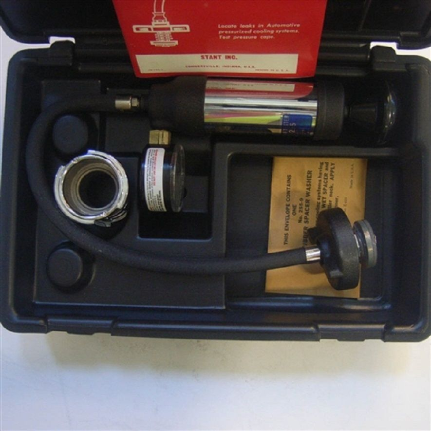 Stant St 255 Cooling System Pressure Tester Nos Cooling System System Electronic Products