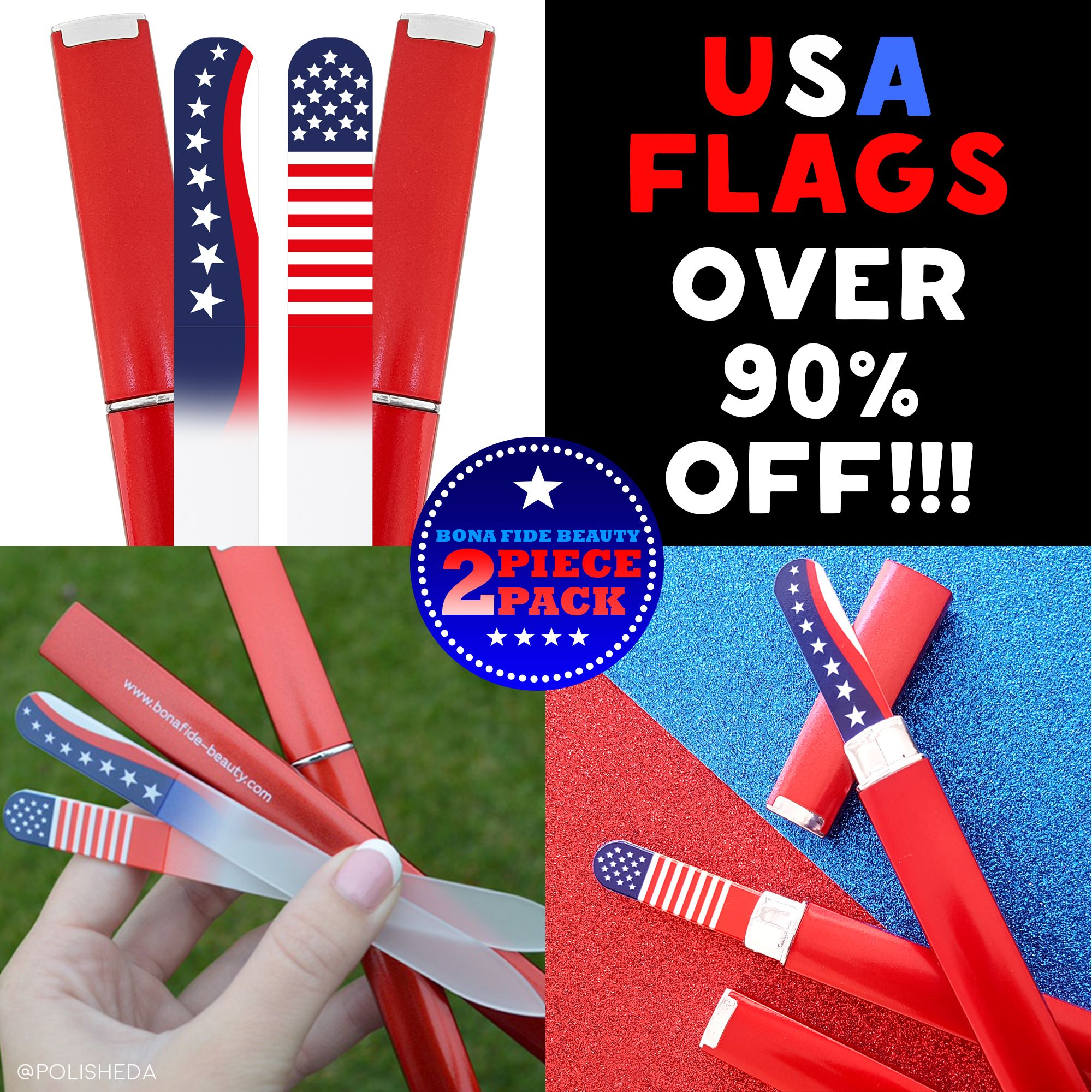 Happy Holidays from Bona Fide Beauty! Over 90% Off BFB\'s USA Flag ...