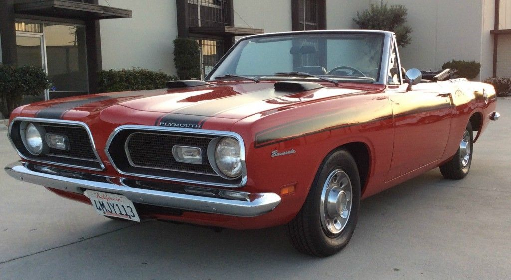 1969 Plymouth Barracuda Convertible | American cars for sale ...
