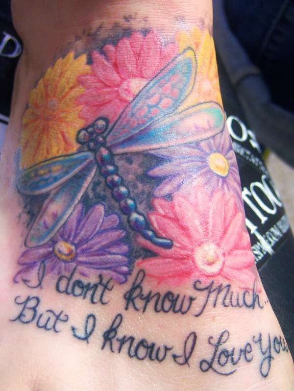 colorful pictures of dragon flies | colorful dragonfly tattoo