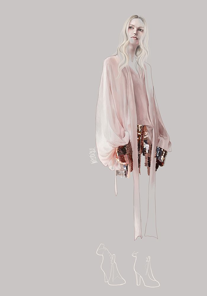 Photo of Sweet Magic: Fashion and foliage in Agata Wierzbicka's illustrations