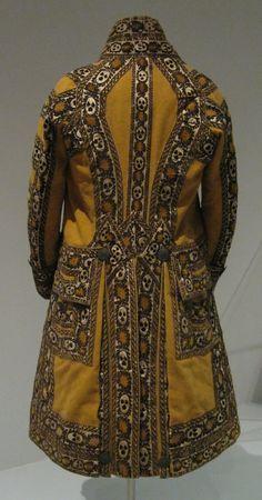 Livery coat worn by a footman or groom in the service of Austrian statesman Prince Klemens Lothar von Metternich (1773-1859)