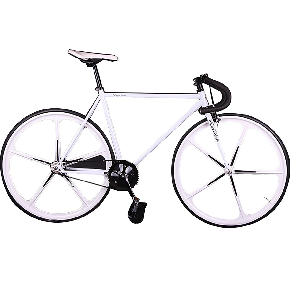 KOLUSSI TA119 700cc x 23cc Bicicletas de engranaje fijo de freno ...