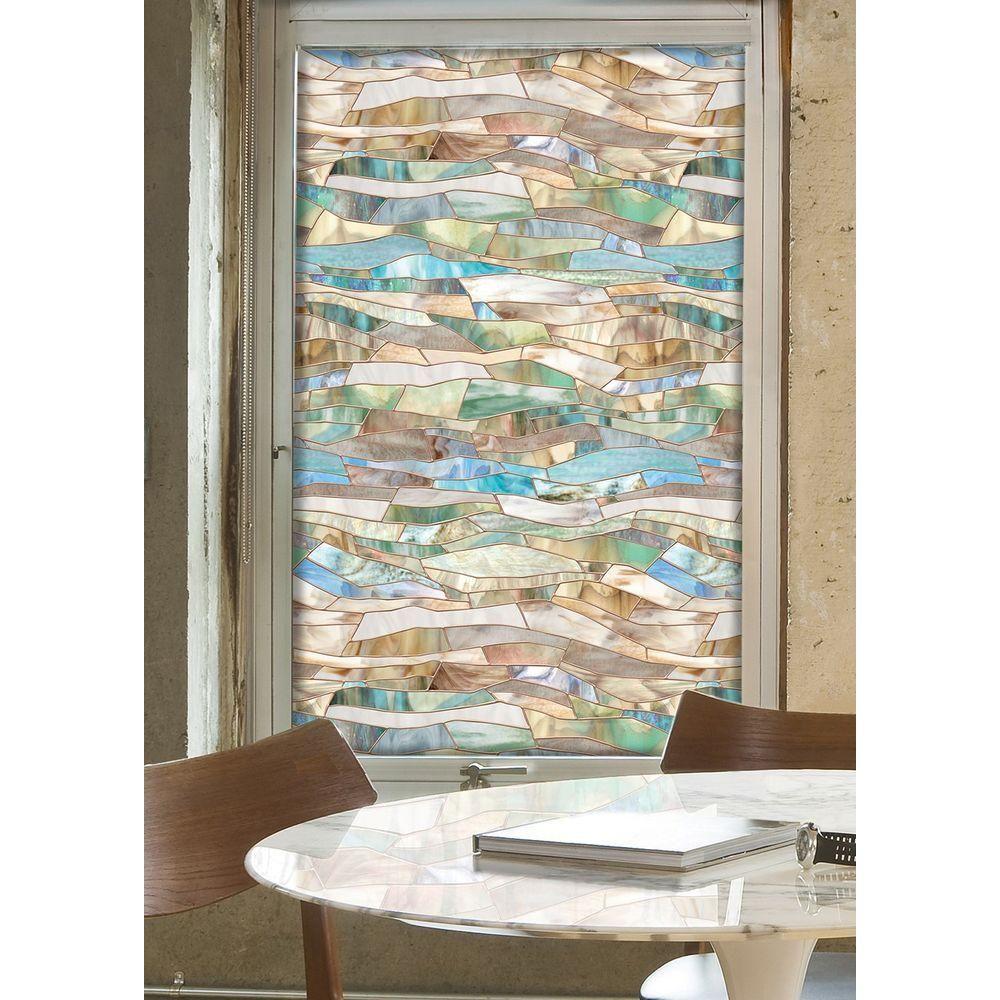 Artscape 24 In X 36 In Terrazzo Decorative Window Film 01 0709