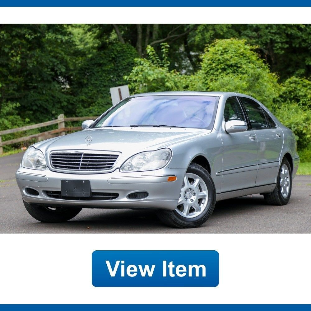 nice amazing 2002 mercedes benz s class base sedan 4 door 2002 mercedes benz s500 1 owner only 3500 miles serviced new tire carfax 2017 2018 [ 1000 x 1000 Pixel ]