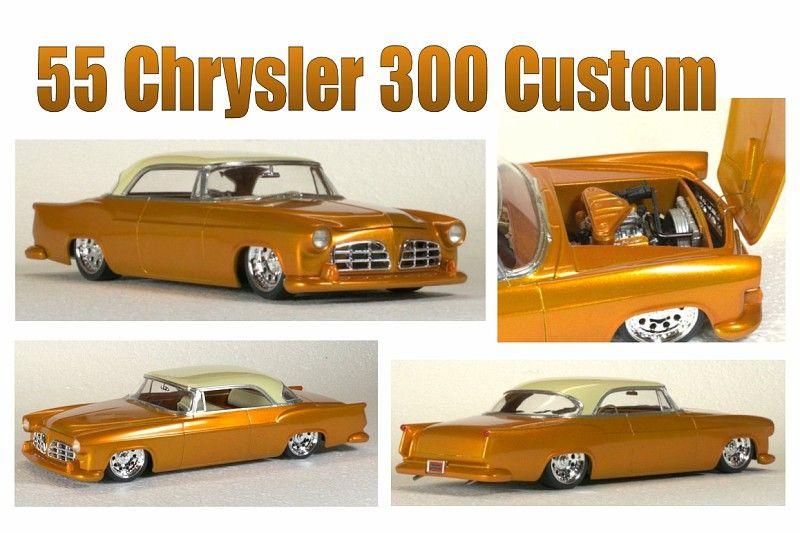Chrysler 300 Custom Model By Kirby Hughes Chrysler 300 Custom Plastic Model Cars Chrysler 300