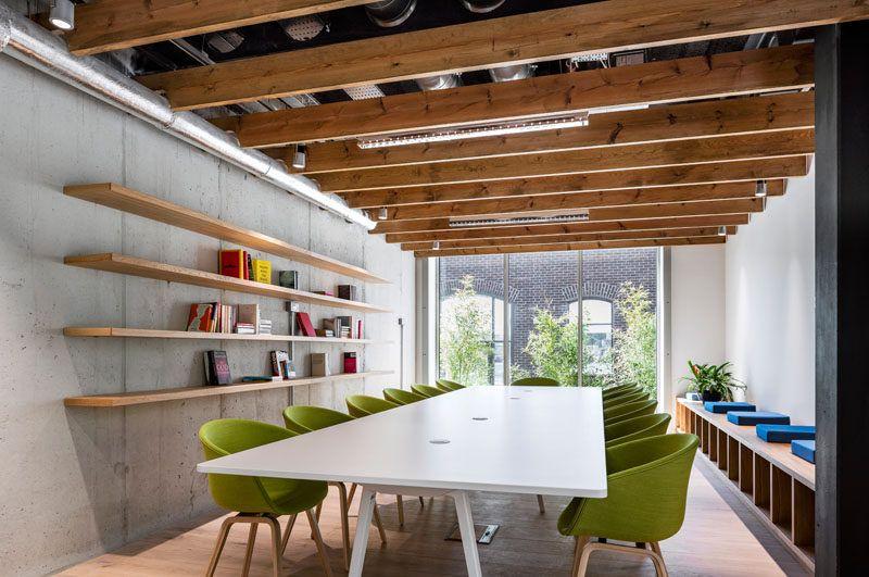 Diseño de Interiores: Oficinas de Airbnb en Dublin #68 - Decoración ...