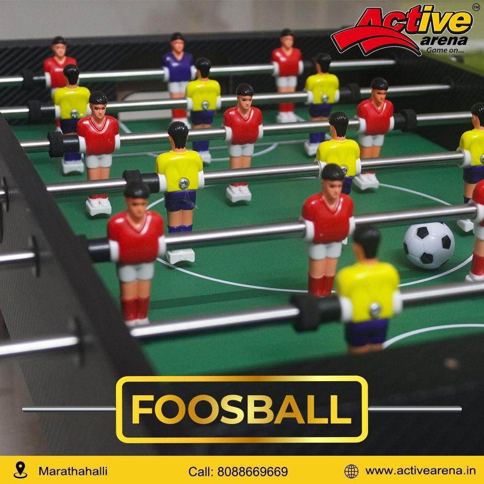 Enjoy the foosball game Active Arena Foosball, Games