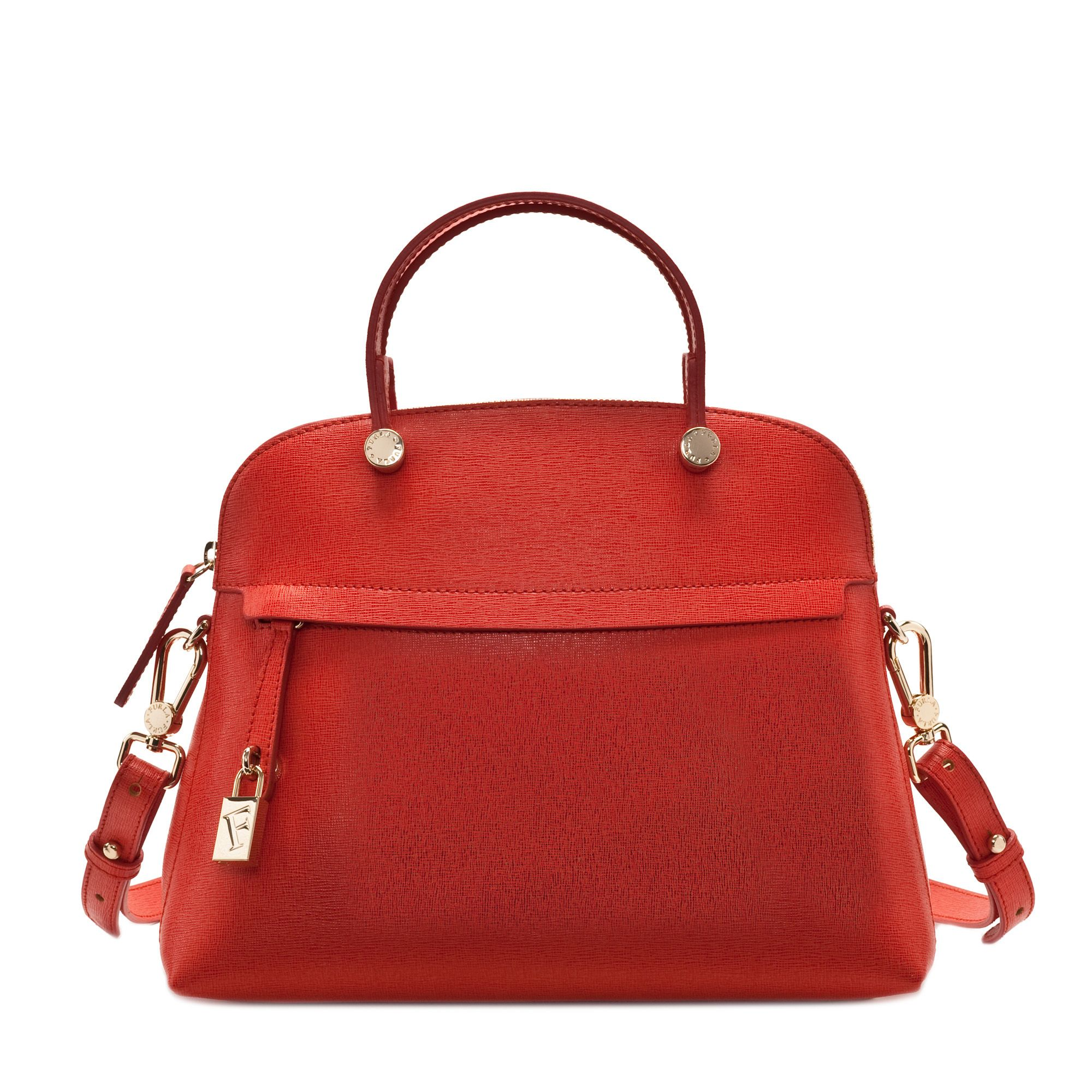 Furla Bag Piper Tote Red Summer 2017 Collection Made In Italy