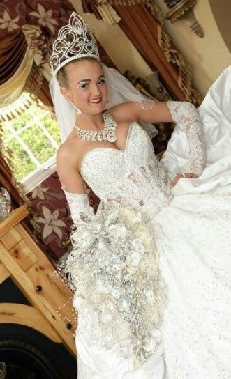 Abiti Da Sposa Gipsy.Pin On My Big Fat Gypsy Wedding