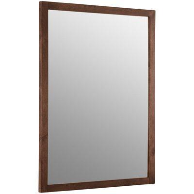 Kohler Evandale Accent Mirror Rectangular Bathroom Mirror Frames On Wall Accent Mirrors