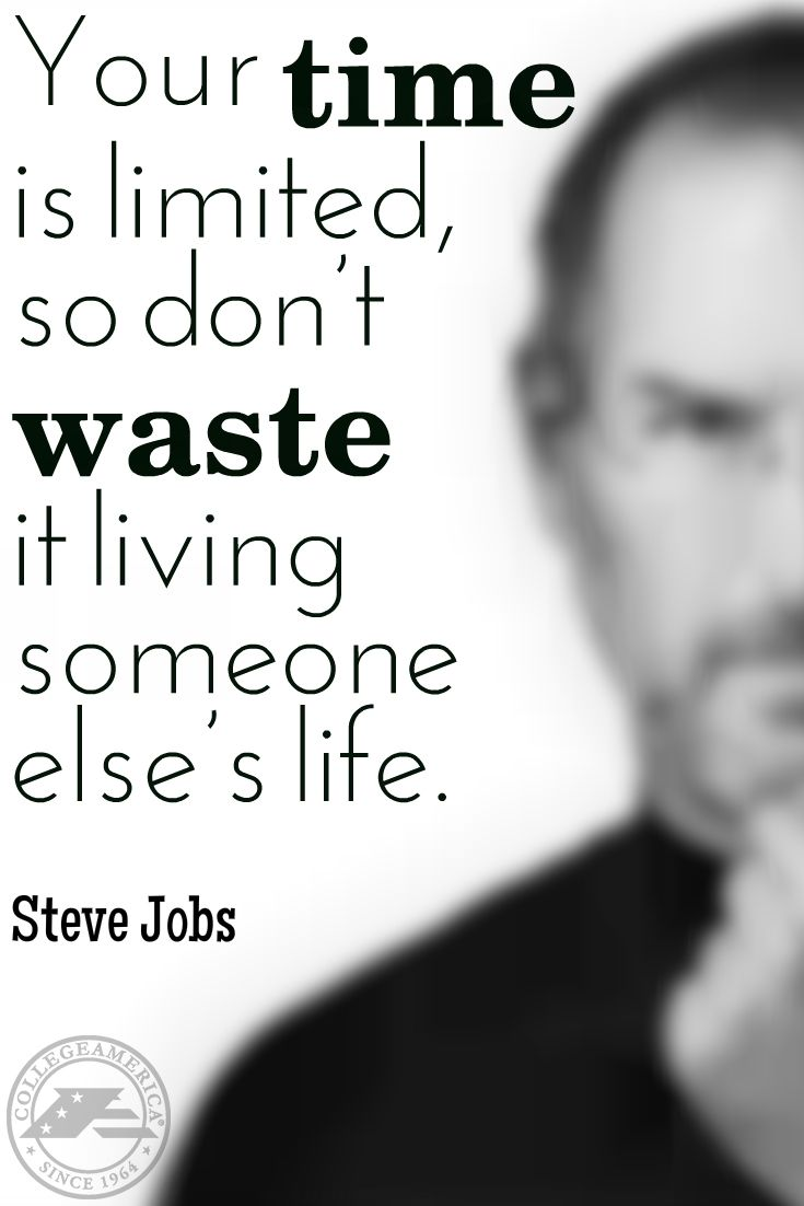 Steve Jobs Quote Inspirational quotes, How to stay