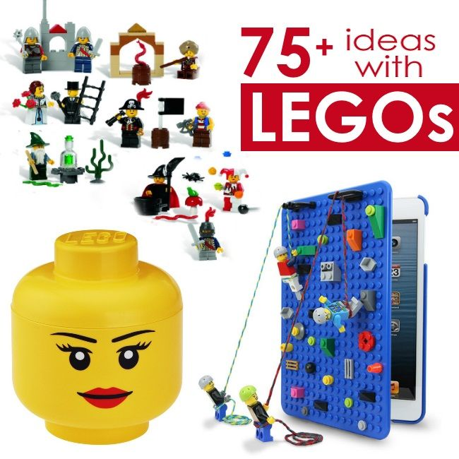 Oh my goodness, here are some SERIOUSLY COOL LEGO ideas for you to check out.. love the rings and bracelets and the carry along LEGO kits. You HAVE to take a peak!