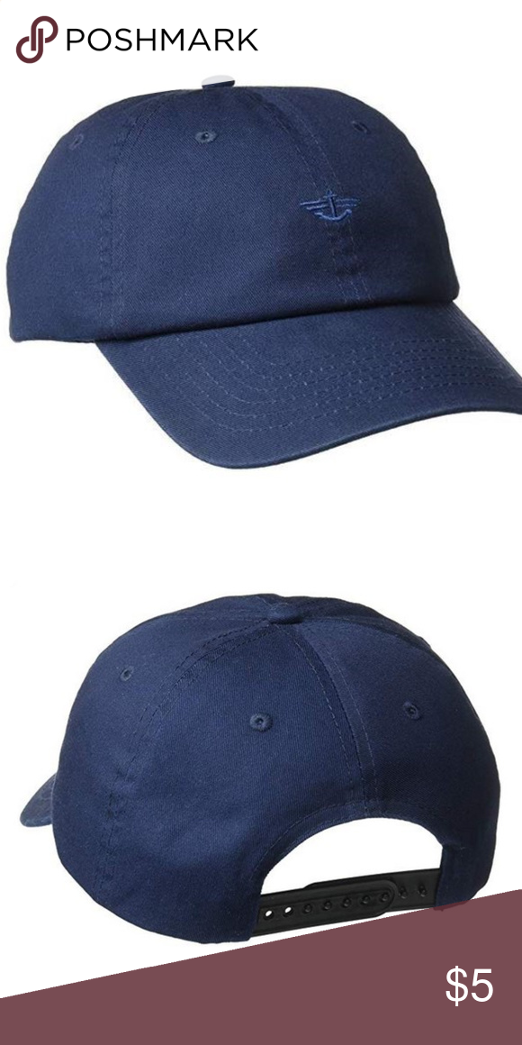 Dockers Blue Baseball Cap 100% Cotton Imported Machine Wash Adjustable  strap- one size fits most Comfortable every day fit Dockers Accessories Hats 6766cd81c76