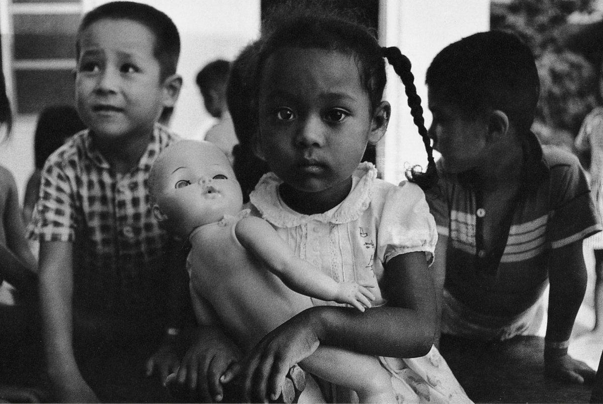 The Forsaken Portraits Of Mixed Race Orphans In Postwar