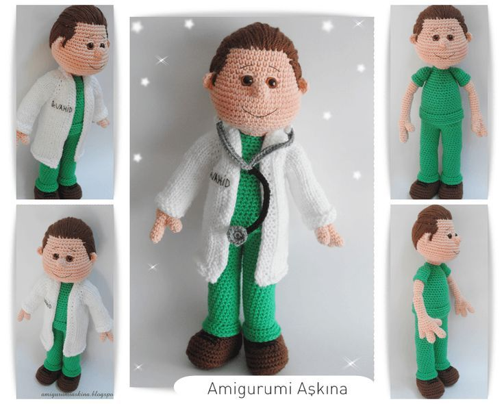 medico amigurumi - Buscar con Google