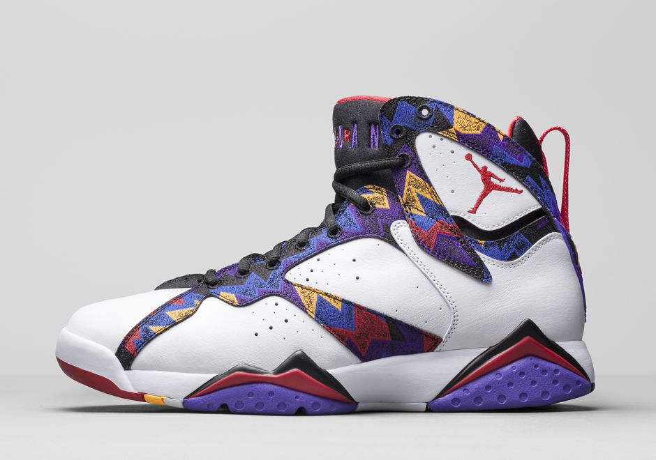 Jordan Brand Recalls MJ's Sweater Print for this Air Jordan 7 -  SneakerNews.com