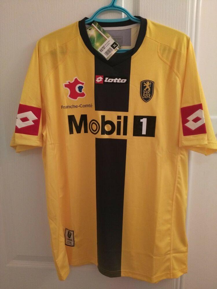 4be900f9567 Advertisement(eBay) Rare Sochaux 2008/2009 Home Soccer Jersey Football Shirt  Maillot XL