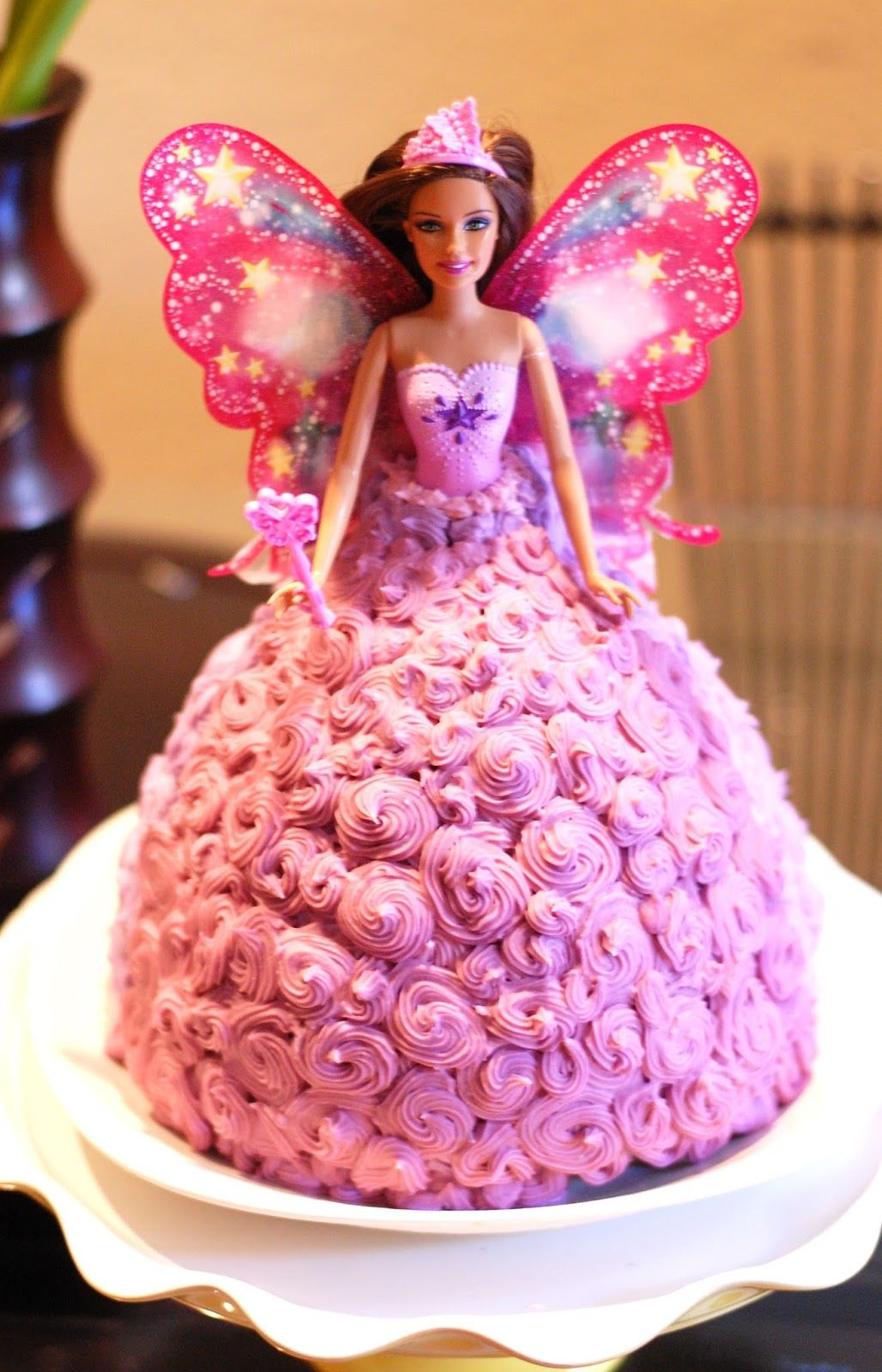 Michelle Party Of 5 How To Diy Barbie Cake Under 30 Barbie