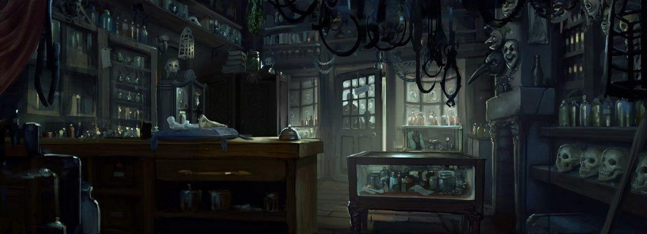Pottermore Borgin And Burkes Atomhawk Design Harry Potter Drawings Harry Potter Places Potter