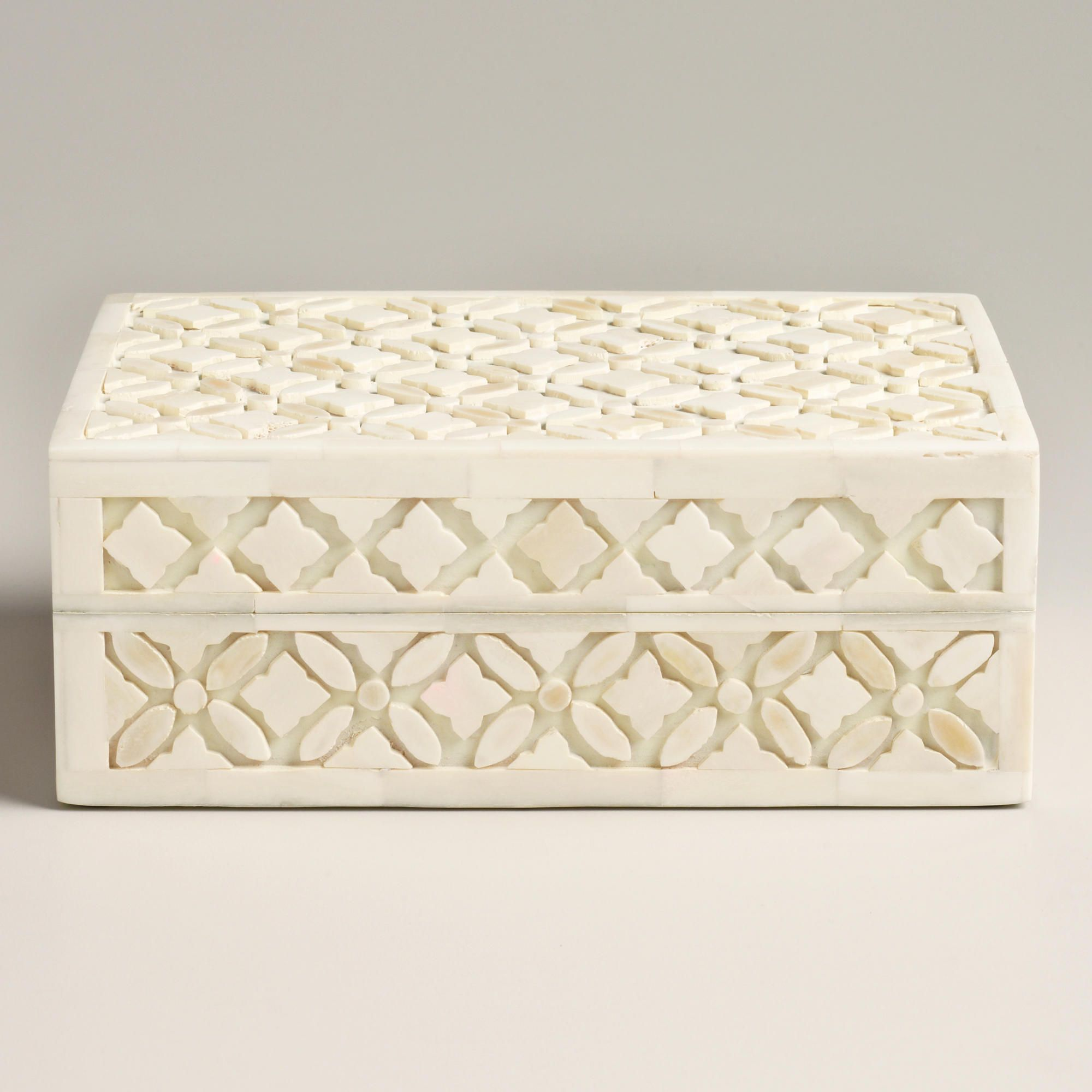 World Market Jewelry Box Captivating Ivory Bone Aiden Jewelry Box  World Market  For The Home  Pinterest Decorating Design