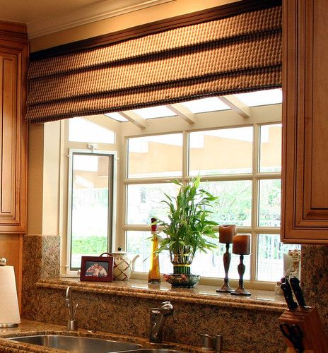 Traditional Spaces Deep Window Sill Kitchen Design Pictures