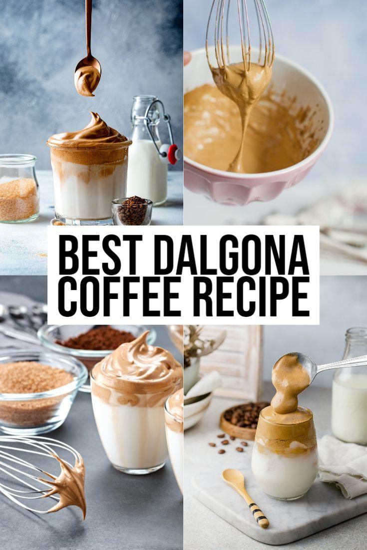 How To Make Dalgona Coffee The Best Dalgona Coffee Recipe