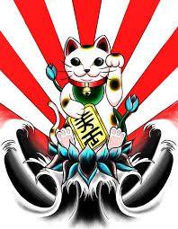 Resultado De Imagen Para Dibujos De Gato De La Fortuna Maneki