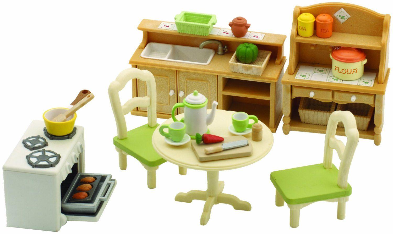Merveilleux U003c3 Amazoncom Sylvanian Families Country Kitchen Set. Sylvanian Families  Luxury Living Room Set