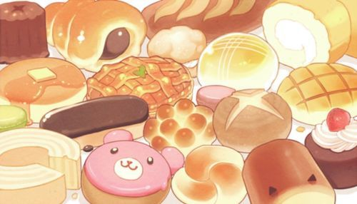 Blippo.com Kawaii Shop Dessert illustration, Food illustrations, Kawaii food