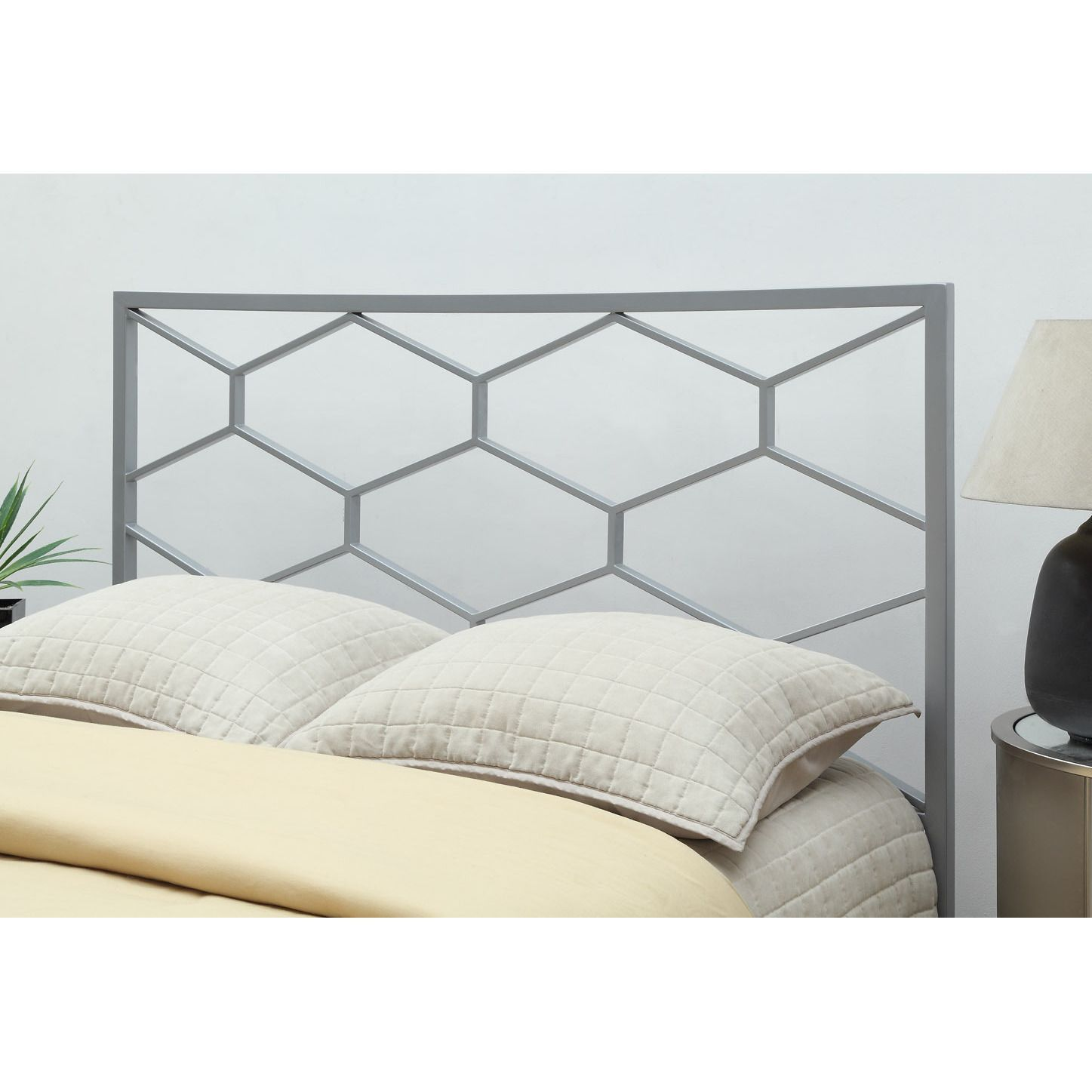 Add luxury and style to your bedroom decor with this