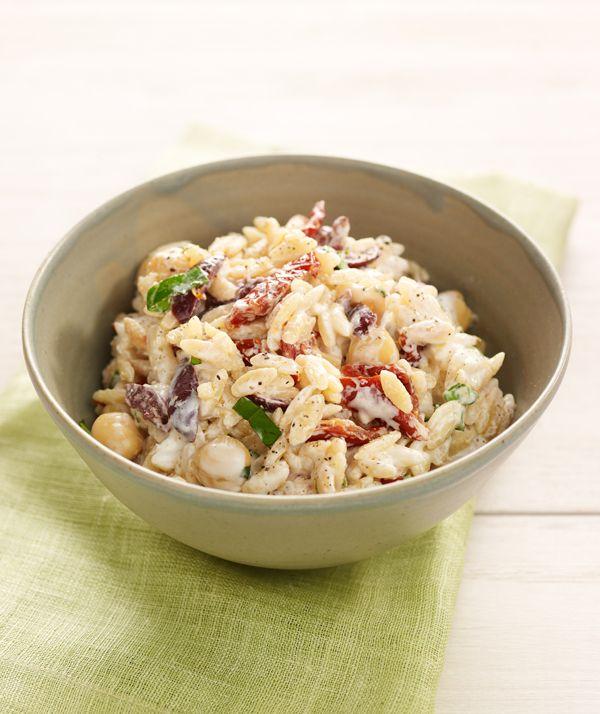 Chobani Yogurt -Orzo Salad - Chobani Yogurt....just made it, delish! Ad healthyish.
