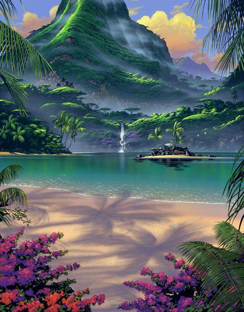 Beautiful Artwork By Steven Power Beautiful Earth Art In