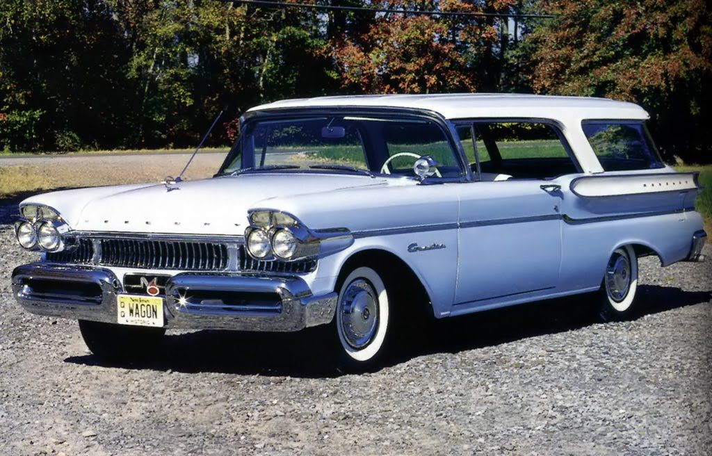 1957 Mercury Commuter Station Wagon Maintenance Restoration Of Old Vintage Vehicles The Material For New Cogs Casters G Station Wagon Mercury Cars Car Station