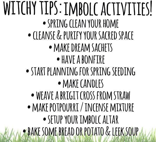 Imbolc activities