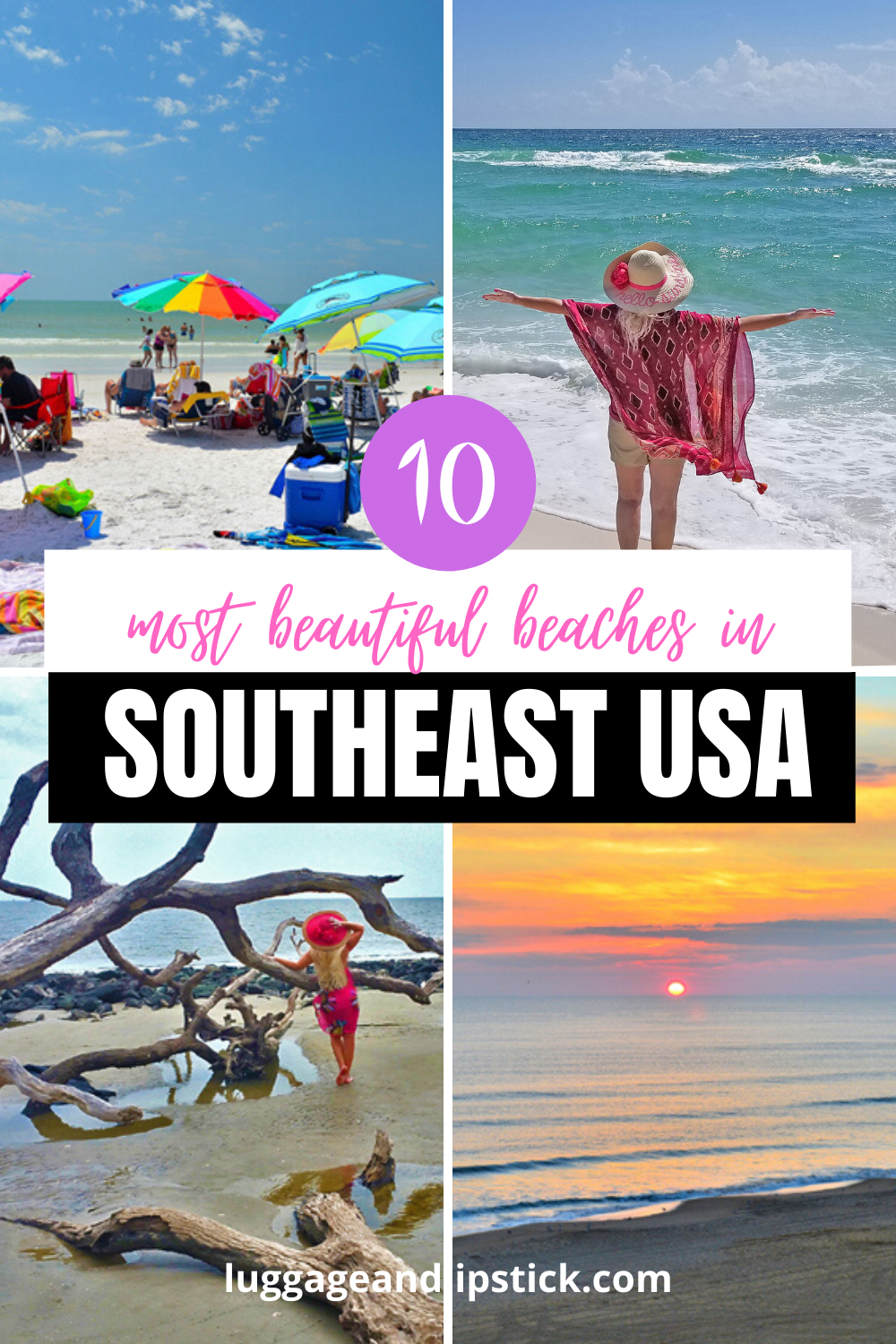 10 Best Beaches In Southeast Usa Travel Usa America Travel Usa Travel Guide