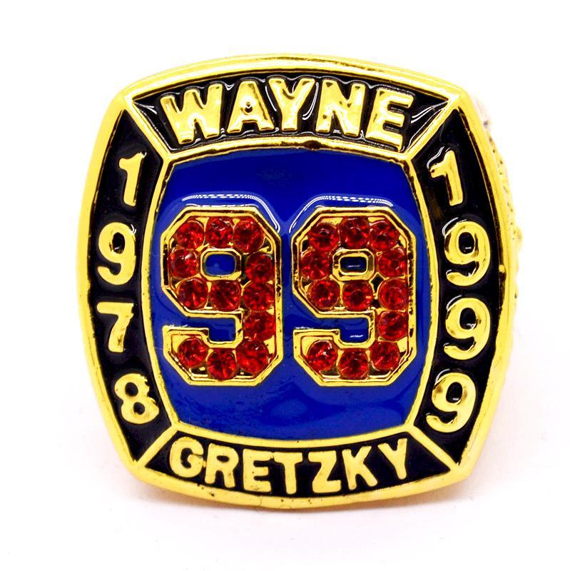 Wayne Gretzky 2 Hall Of Fame World Series Championship Ring Wayne Gretzky Championship Rings Wayne